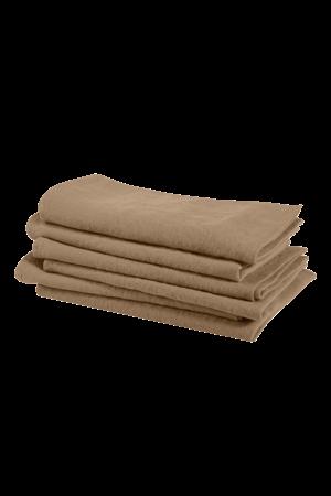 Linge Particulier Napkin linen - camel