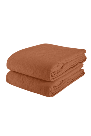 Linge Particulier Tablecloth linen - sienna