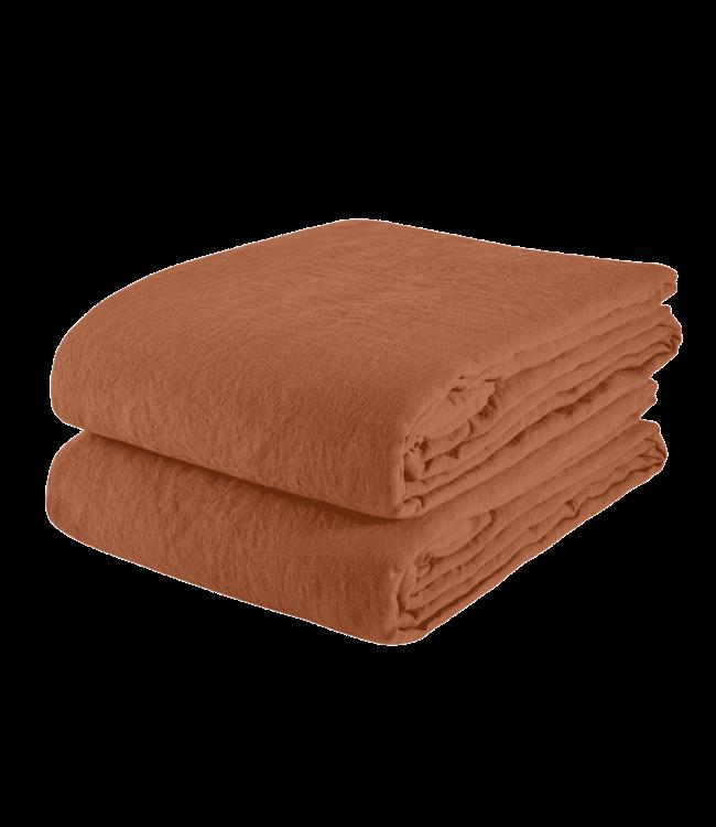 Tablecloth linen - sienna