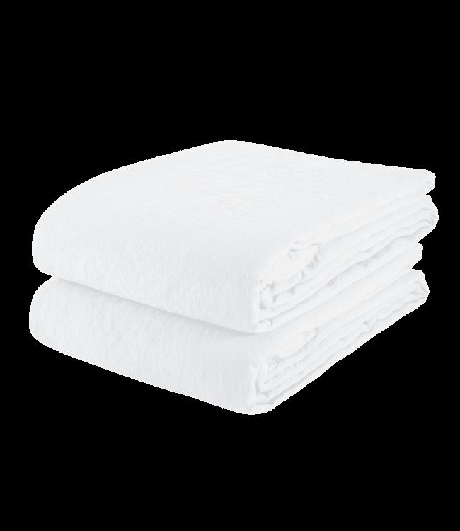 Linge Particulier Tafelkleed linnen - optic white