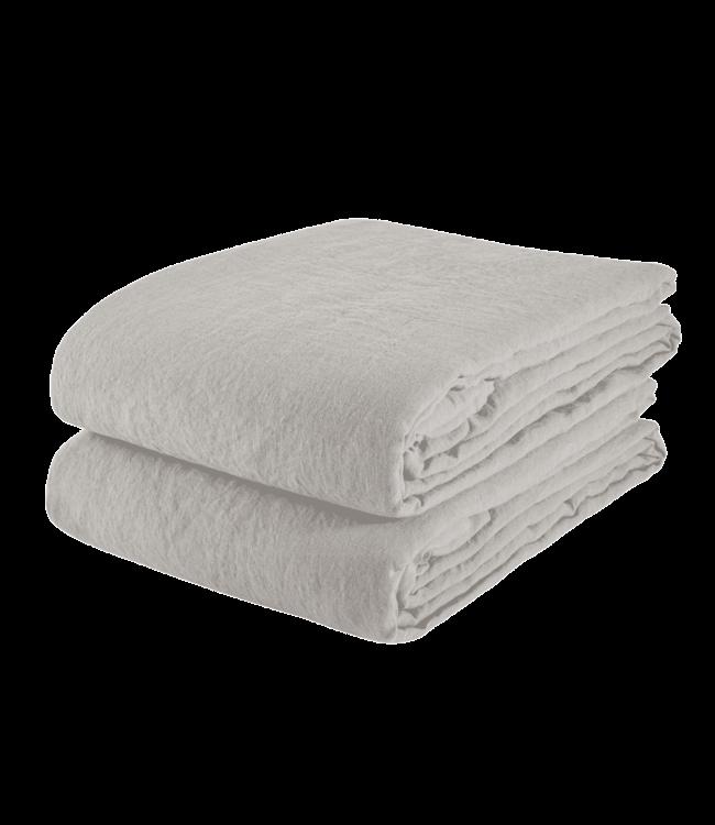 Linge Particulier Tablecloth linen - cloud grey