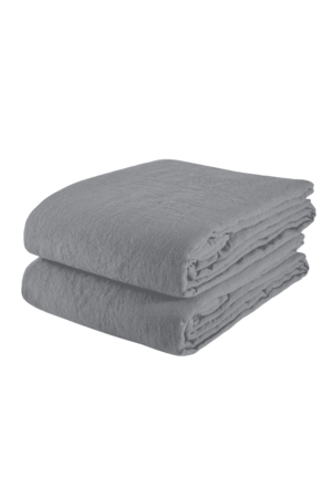 Linge Particulier Tablecloth linen - blue grey