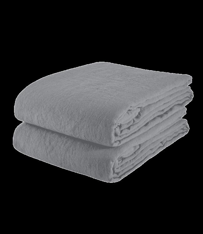 Tablecloth linen - blue grey