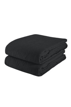 Linge Particulier Tablecloth linen - black