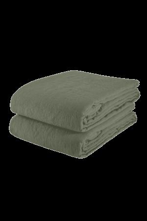 Linge Particulier Tablecloth linen - jade