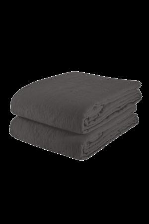 Linge Particulier Tablecloth linen - storm grey