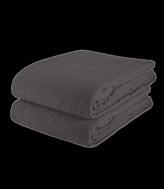 Tafelkleed linnen - storm grey