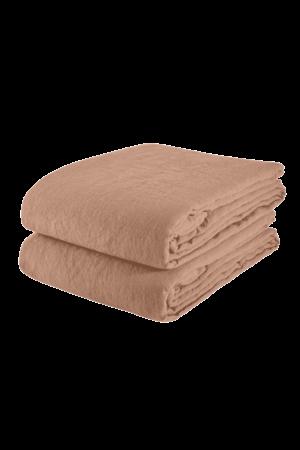 Linge Particulier Tafelkleed linnen - moka
