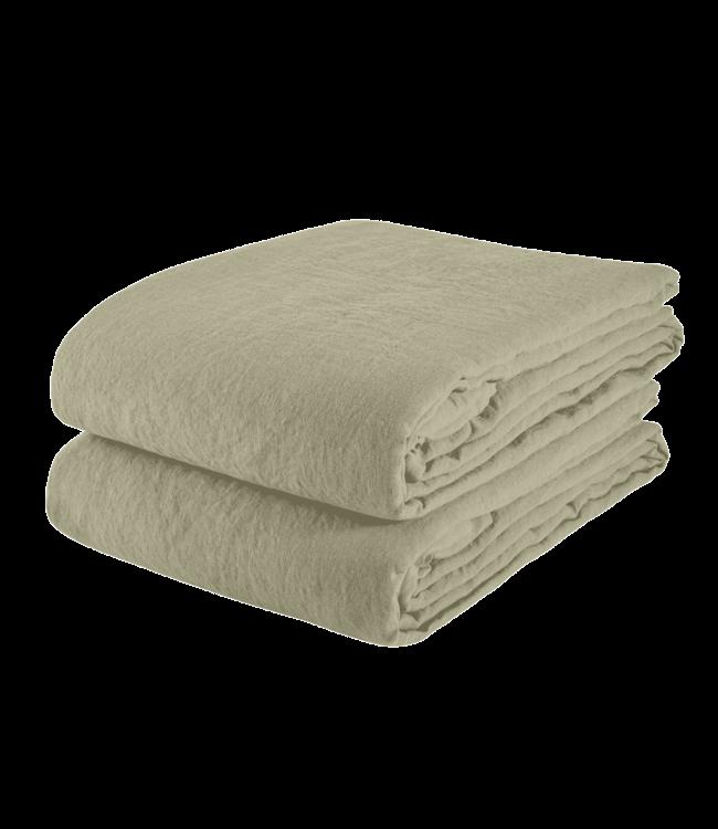 Linge Particulier Tablecloth linen - fennel