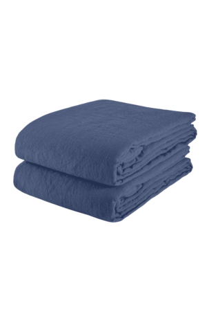 Linge Particulier Tafelkleed linnen - atlantic blue