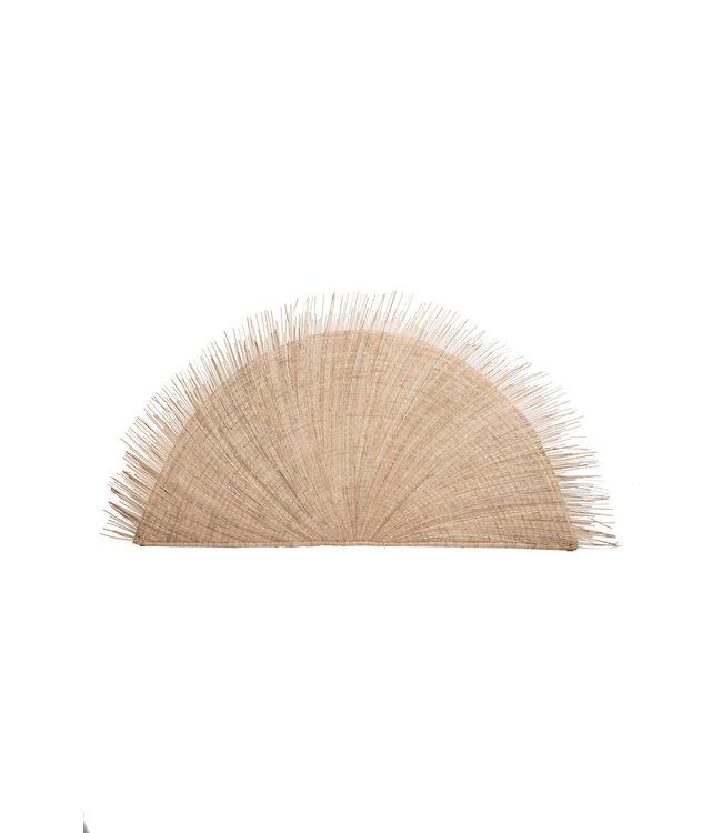 Malawi hoofdeinde in palmbladeren