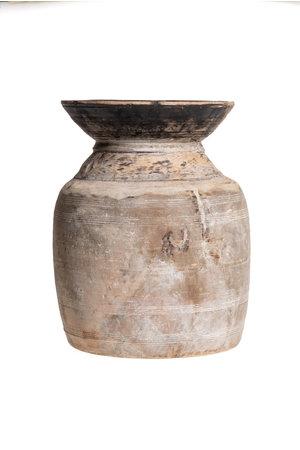 Oude houten waterkruik - L