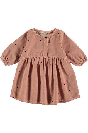 My little cozmo Dress kids dots - pink