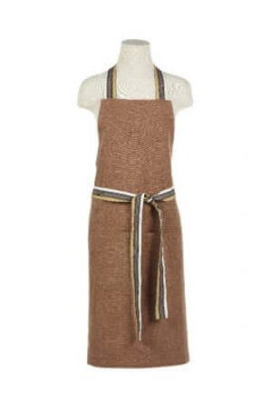 Libeco Leroy apron - red earth