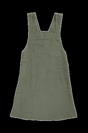 Linge Particulier Keukenschort linnen - jade