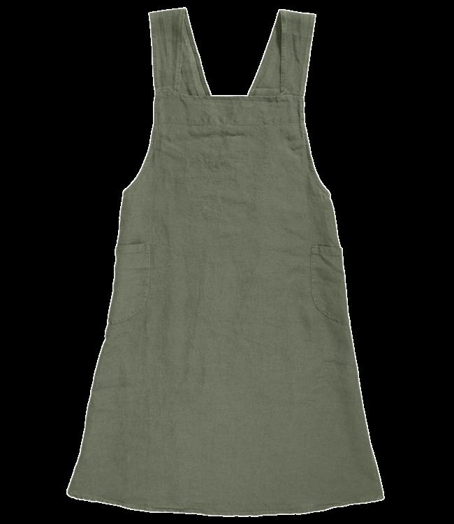 Linge Particulier Japanese apron linen - adult jade