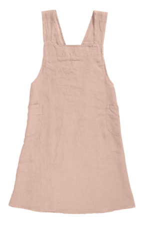 Linge Particulier Keukenschort linnen - nude
