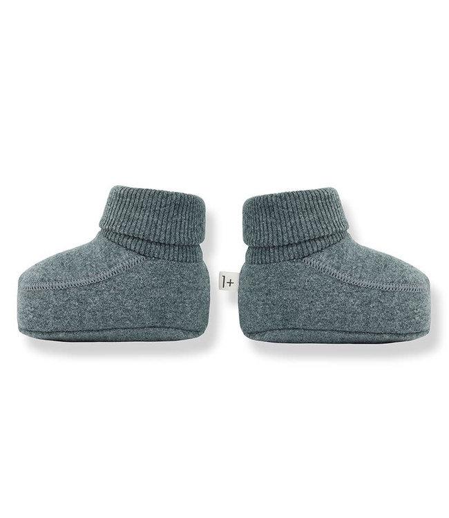 1+inthefamily Skye socks - pine