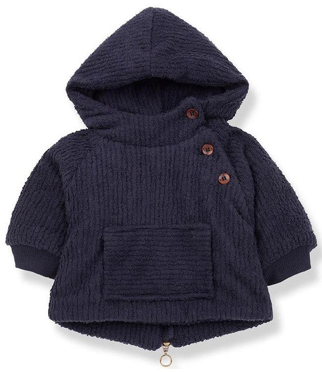 1+inthefamily Arcalis jacket - blue notte