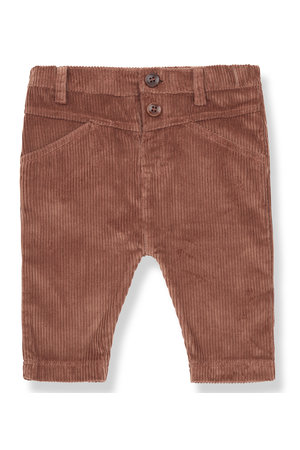 1+inthefamily Angles pants - toffee