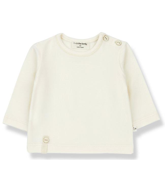 1+inthefamily Noelle t-shirt - ecru