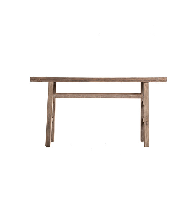 Sidetable elm wood 167cm