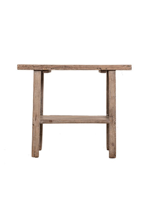 Sidetable  elm wood 102cm