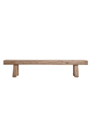 Bench elm wood 219cm