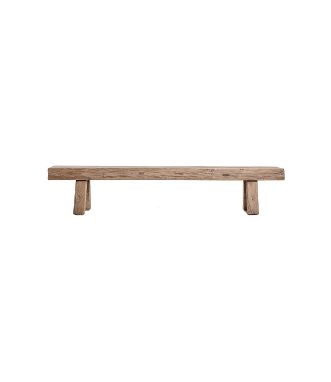 Bench elm wood 219cm