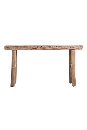 Sidetable elm wood 158cm