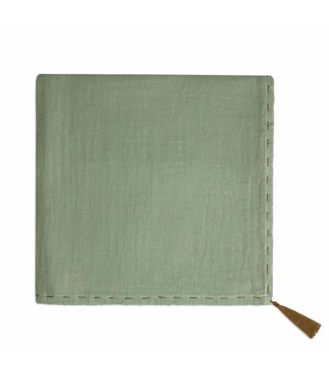 Numero 74 Nana swaddle - sage green