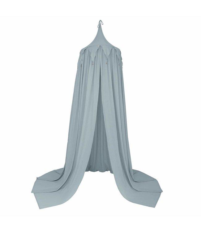 Circus bunting bedhemel - sweet blue