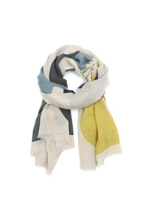 MoisMont Sjaal design 455 - mustard