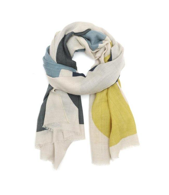 Sjaal design 455 - mustard