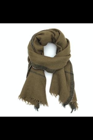 MoisMont Sjaal design 473 - kaki