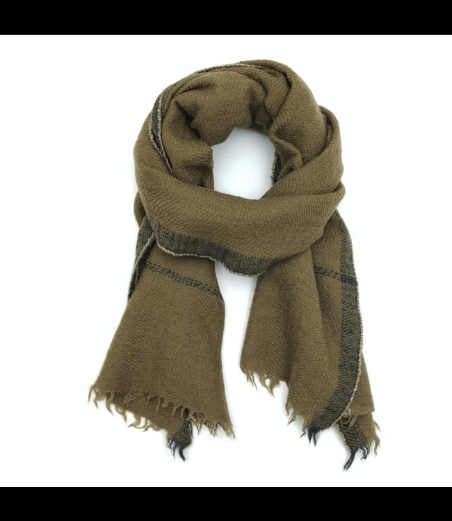 Sjaal design 473 - kaki