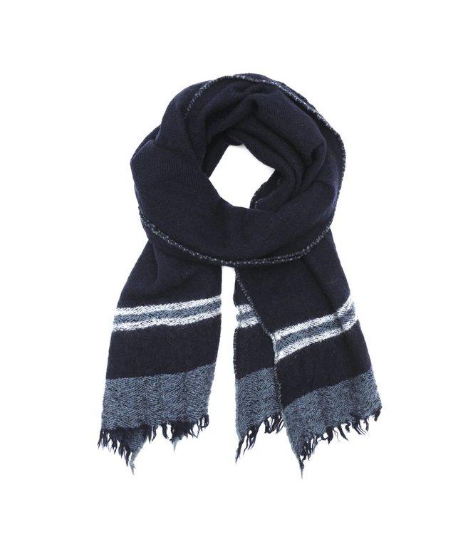 Sjaal design 465 - japan blue