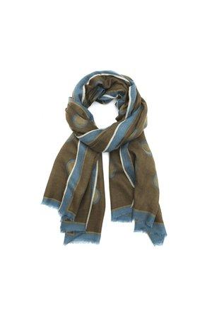 MoisMont Sjaal design 463 - kaki green