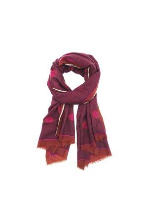 MoisMont Sjaal design 463 - hot pink