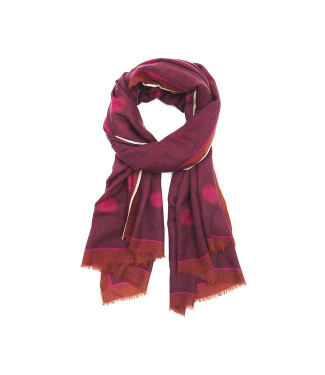 Sjaal design 463 - hot pink