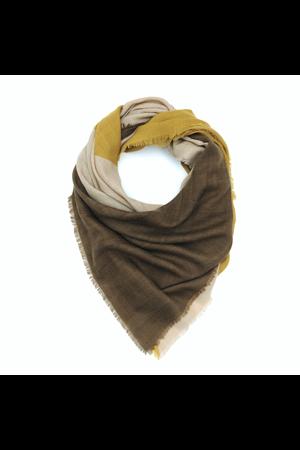 MoisMont Sjaal design 447 - mustard