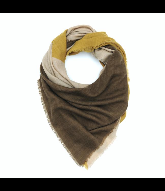 Scarf design 447 - mustard