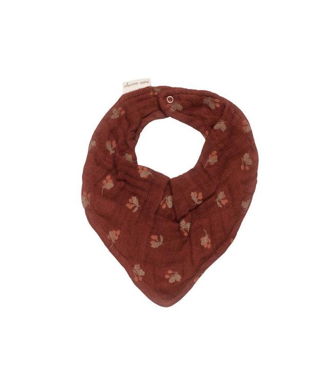 Main Sauvage Bib scarf, hawthorns