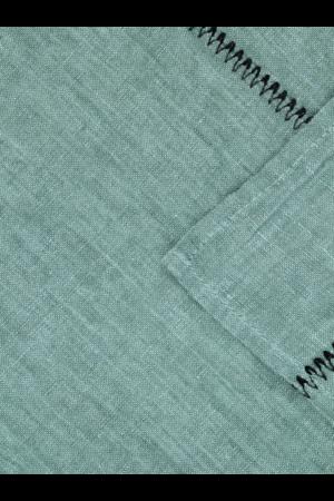 Caravane Tablecloth Noé, washed linen - sauge