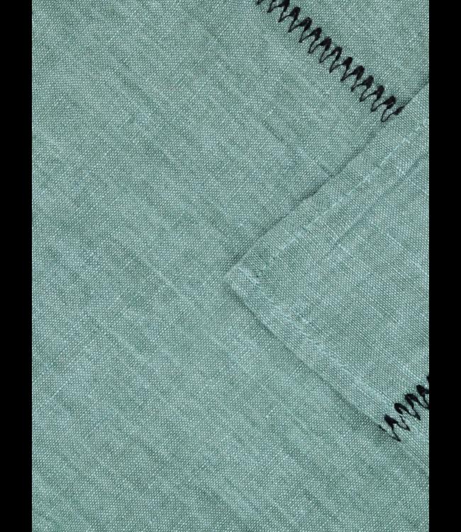Caravane Tafelkleed Noé, gewassen linnen - sauge