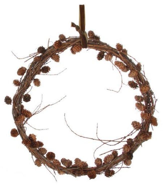 Larix cone wreath