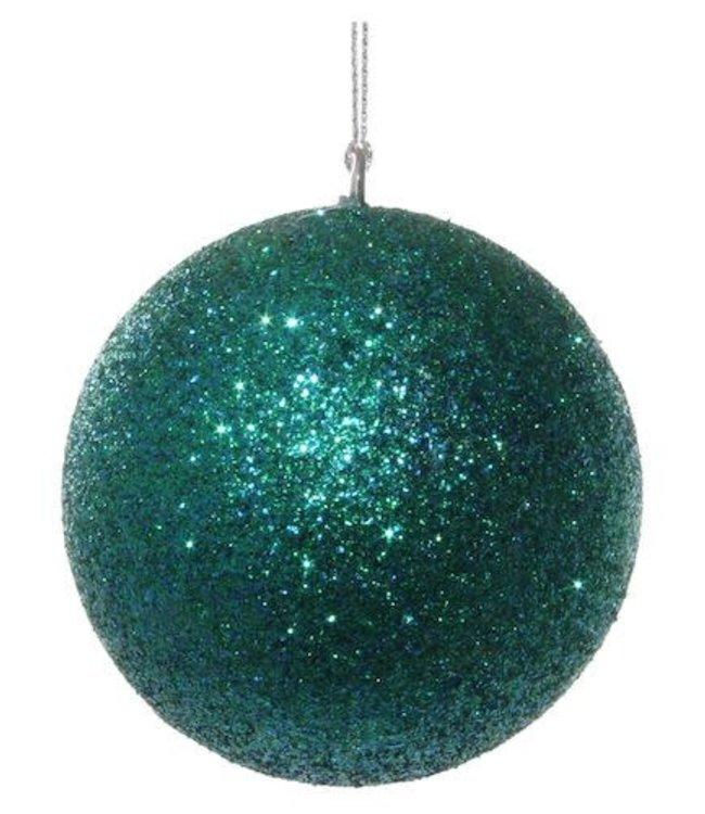 Glitter ball blue-green