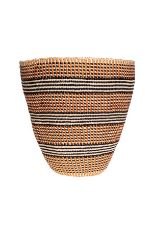 Couleur Locale Sisal mandje Kenia - aardetinten - #40