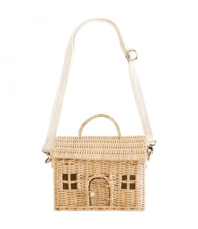 Speelhuisje casa bag - naturel