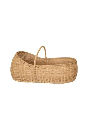Olli Ella Lyra Moses basket with mattress